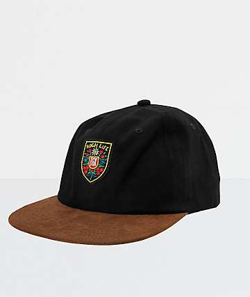 DGK High Life Black Strapback Hat