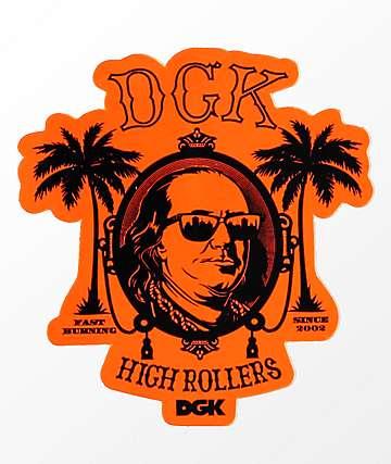DGK High Rollers Sticker