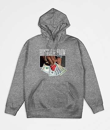 DGK Hustle & Flow Grey Hoodie