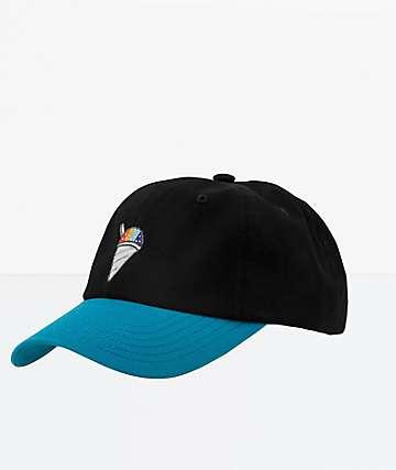 DGK Icey Black Strapback Hat