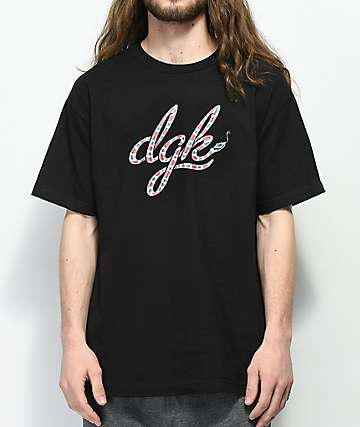 DGK King Black T-Shirt