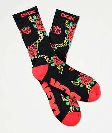 DGK Lavish Black Crew Socks