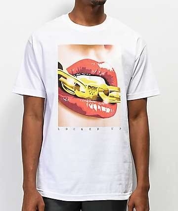 DGK Locked Up White T-Shirt