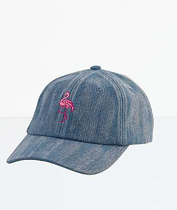 DGK Lost In Paradise Blue Denim Strapback Hat