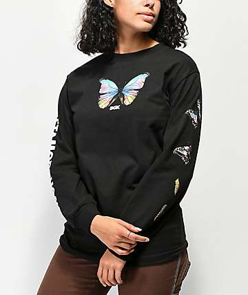 DGK Metamorphosis Black Long Sleeve T-Shirt