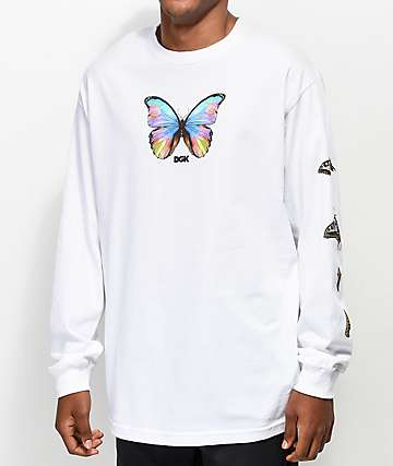 DGK Metamorphosis White Long Sleeve T-Shirt