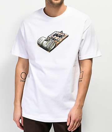 DGK Mind Trap White T-Shirt