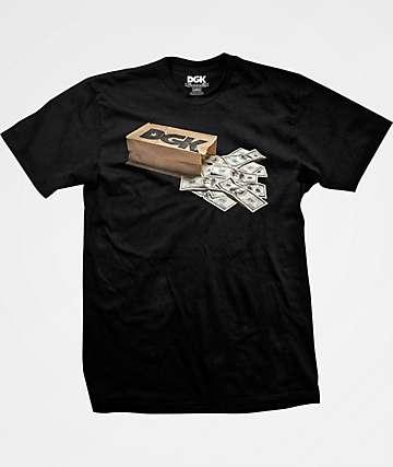 DGK Money Bag Black T-Shirt