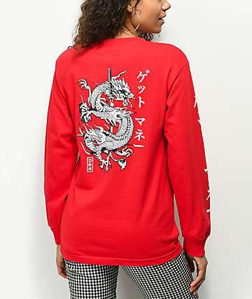 DGK Money Red Long Sleeve T-Shirt