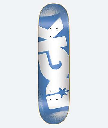 "DGK OG Logo Blue & White 8.0"" Skateboard Deck"