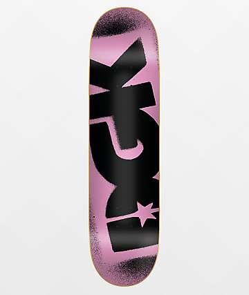 """DGK OG Logo Pink & Black 8.0"""" Skateboard Deck"""