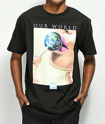 DGK Our World camiseta negra