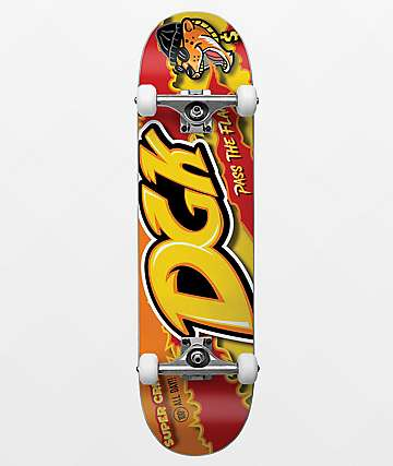 "DGK Pass The Flame 7.75"" Skateboard Complete"
