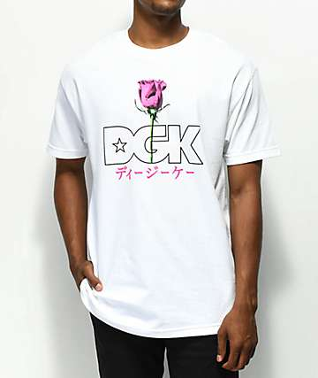 DGK Peaceful White T-Shirt