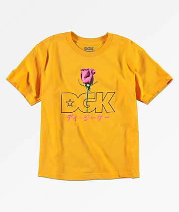 DGK Peaceful camiseta dorada para niños