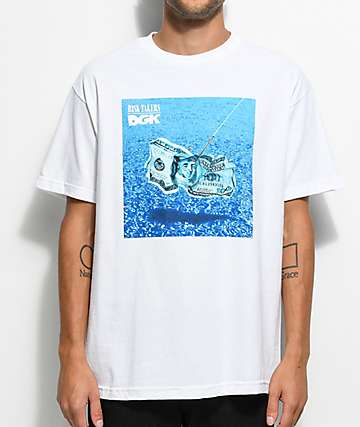 DGK Pool White T-Shirt