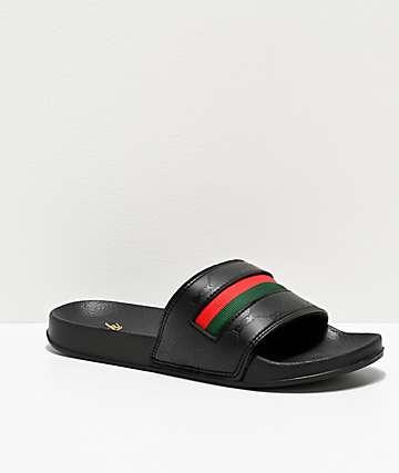 DGK Primo Black Slide Sandals