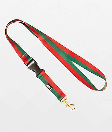 DGK Primo Red & Green Lanyard