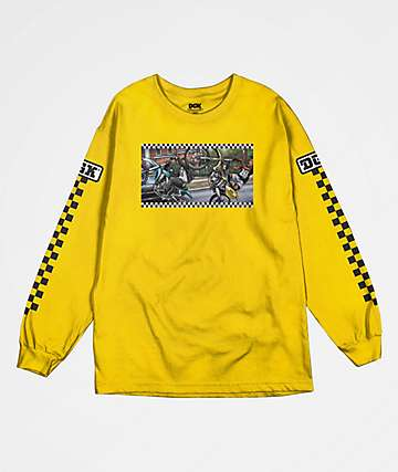 DGK Ride Or Die Yellow Long Sleeve T-Shirt