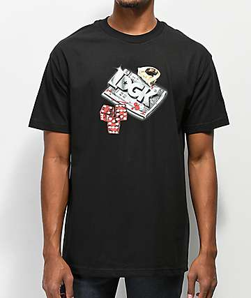 DGK Roll Out camiseta negra
