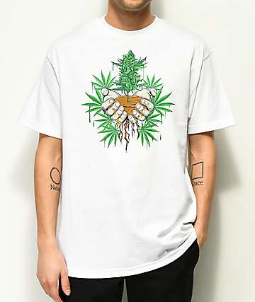 DGK Roots White T-Shirt