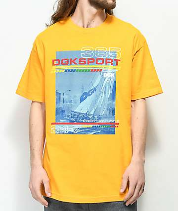 DGK Seascape Gold T-Shirt
