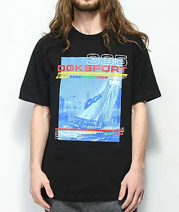 DGK Seascape camiseta negra