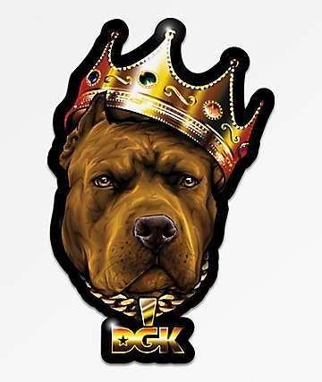 DGK Spirit Animal Pitbull Sticker