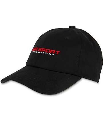 DGK Sport Black Strapback Hat