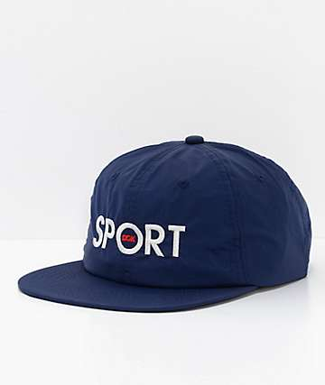 DGK Sport Navy Strapback Hat