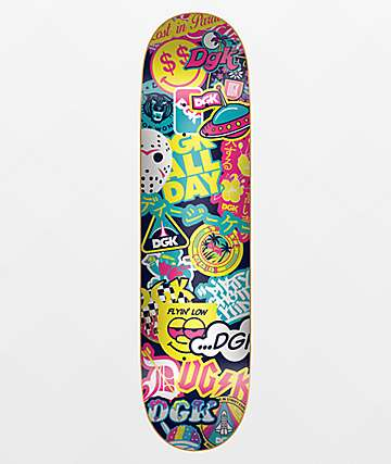 "DGK Spring Collage 7.9"" Skateboard Deck"