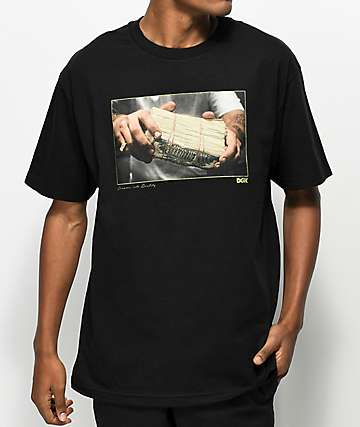DGK Stack Black T-Shirt