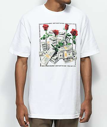 DGK Stacks camiseta blanca