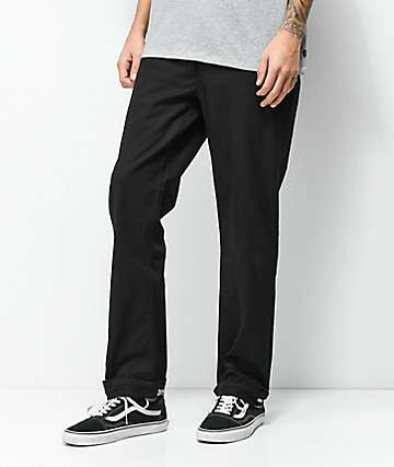 DGK Street Black Chino Pants
