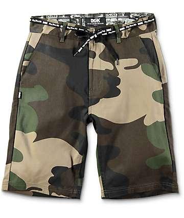 DGK Street Camo Chino Shorts