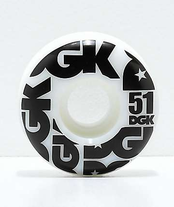 DGK Street Formula 51mm 101a Skateboard Wheels