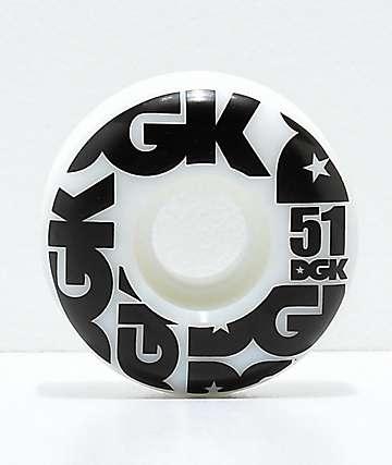 DGK Street Formula 51mm 101a ruedas de skate