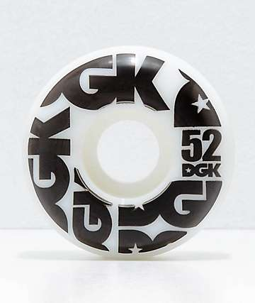 DGK Street Formula 52mm 101a Skateboard Wheels