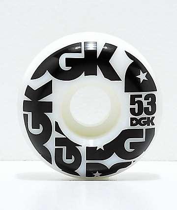 DGK Street Formula 53mm 101a ruedas de skate