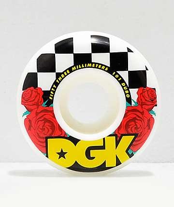 DGK Street Formula Fast Times 53mm 101a Skateboard Wheels