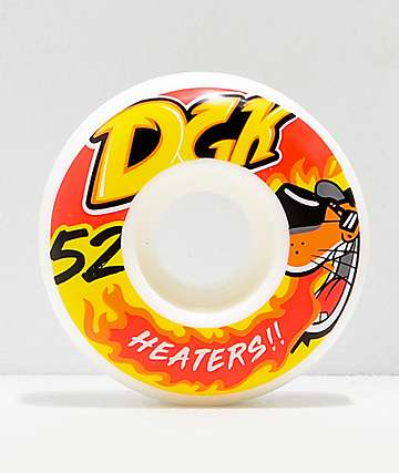 DGK Street Formula Heaters 52mm 101a Skateboard Wheels