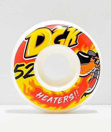 DGK Street Formula Heaters 52mm 101a ruedas de skate