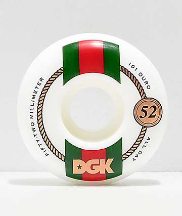 DGK Street Formula High Class 52mm 101a Skateboard Wheels