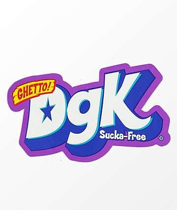 DGK Sucka Free Sticker