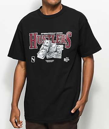 DGK Team Hustle Black T-Shirt