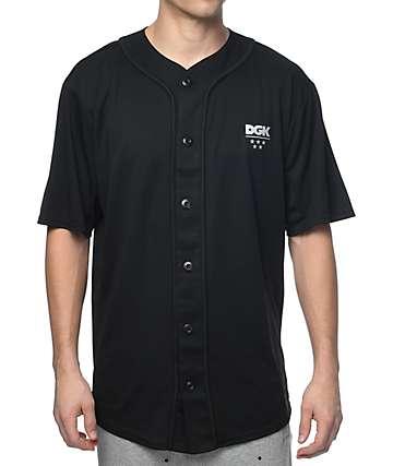 DGK Technique Custom jersey de béisbol en negro