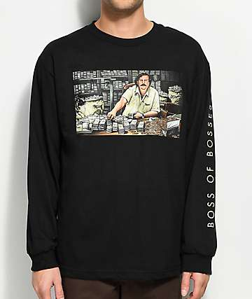 DGK The Boss Black Long Sleeve T-Shirt