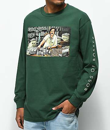 DGK The Boss Forest Green Long Sleeve T-Shirt