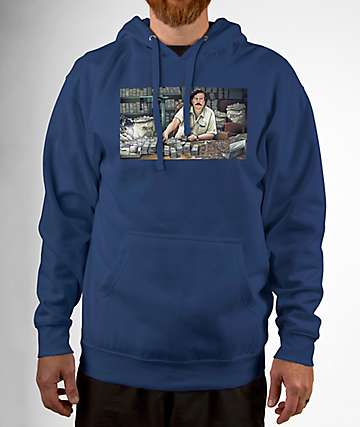 DGK The Boss Navy Blue Hoodie