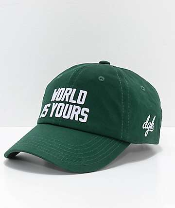 DGK The World Is Yours Green Strapback Hat